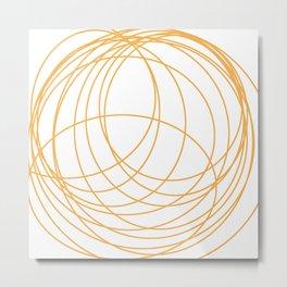Orbits Metal Print