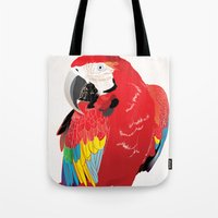wasted rita Tote Bags featuring Rita  by Nicholas Darby