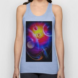 Space and Time Unisex Tank Top