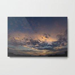 Panorama Skies Metal Print