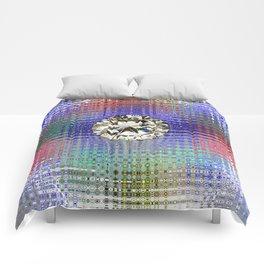 Diamond in Multi-Coulors Comforters