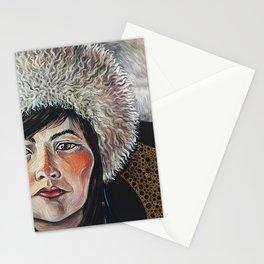 Nothern goddess Stationery Cards