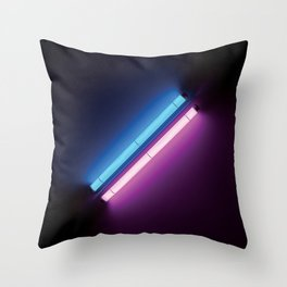 The Architecture of Light Throw Pillow