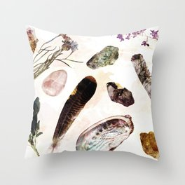 SACRED OBJECTS Throw Pillow