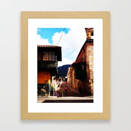 Life on latinoamerica - Colombia Framed Art Print