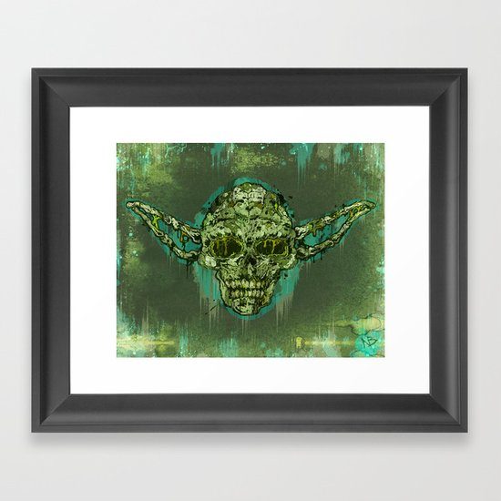 Dagoba Gremlin Framed Art Print