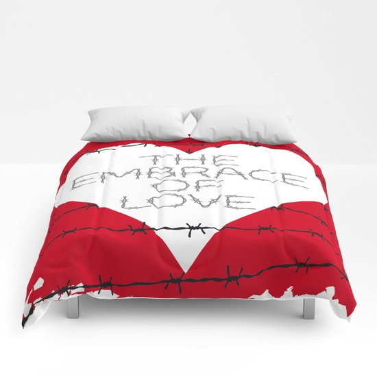 The embrace of love Comforters