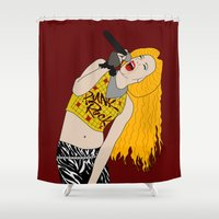 hedwig Shower Curtains featuring Hedwig Singing by byebyesally