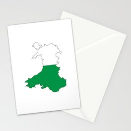Wales and the Dragon Stationery Cards