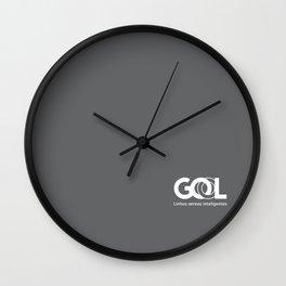 G cinza Wall Clock