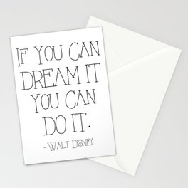 If You Can Dream It Stationery Cards