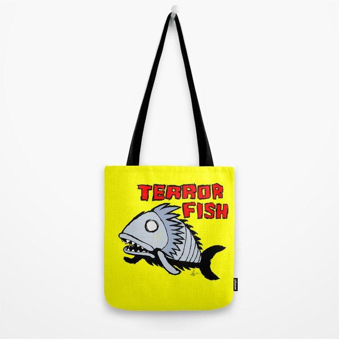 Terror fish Tote Bag