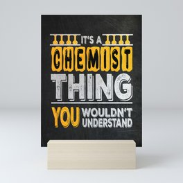 Chemist Funny Gift Mini Art Print