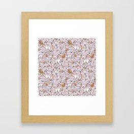 Pretty Llamas Framed Art Print