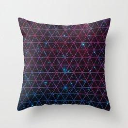 Spacial Geometrica Throw Pillow