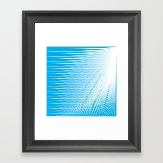 frozen still Framed Art Print