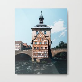 Town Hall Bamberg Bavaria Germany Metal Print