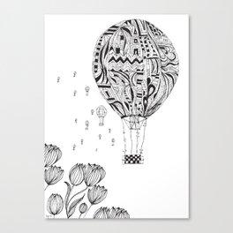 balloon trip Canvas Print