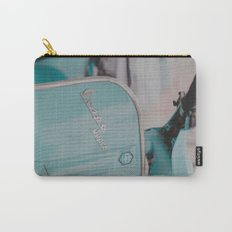 Mint Vespa  Carry-All Pouch