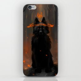 Crowned Wolf iPhone Skin