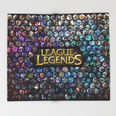 League of Legends - Champions! Throw Blanket