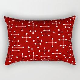 Atomic Era Dots 30 Rectangular Pillow