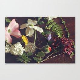 Spring Sampler Still Life Pt. 2 Canvas Print