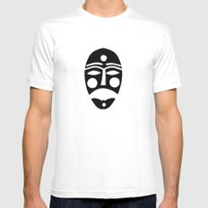 Mask Mens Fitted Tee MEDIUM White