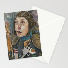 IMAGINARY ASTRONAUT Stationery Cards