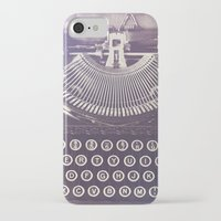 typewriter iPhone & iPod Cases featuring Typewriter by Jessica Torres Photography