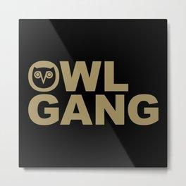 OVO Owl Gang Metal Print