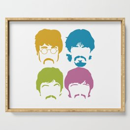 The Fab Four Colour Mosaic Serving Tray