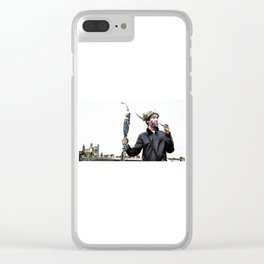 Viking thoughts Clear iPhone Case