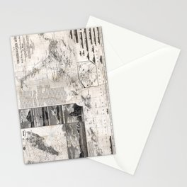 Map of Macao, Hong Kong and Pearl River Estuary - 1834 Stationery Cards