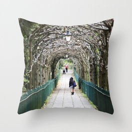 St. ANDREWS WALK Throw Pillow