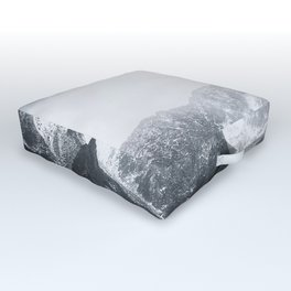 Morning in the Mountains - Nature Photography Outdoor Floor Cushion