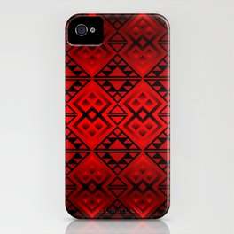 The Lodge (Red) iPhone Case