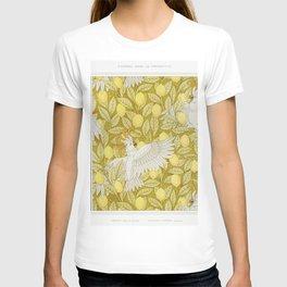 Poissons frise au pochoir Cacatos et citrons cretonne from Lanimal dans la decoration (1897) illustr T-shirt