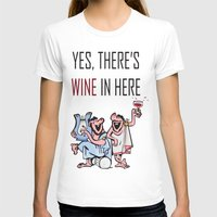 wine T-shirts featuring Wine by Artysmedia