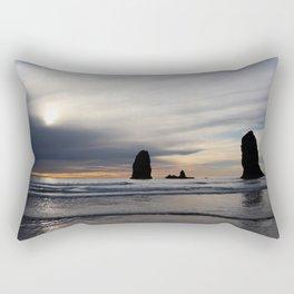 Pillars of the Sea Rectangular Pillow