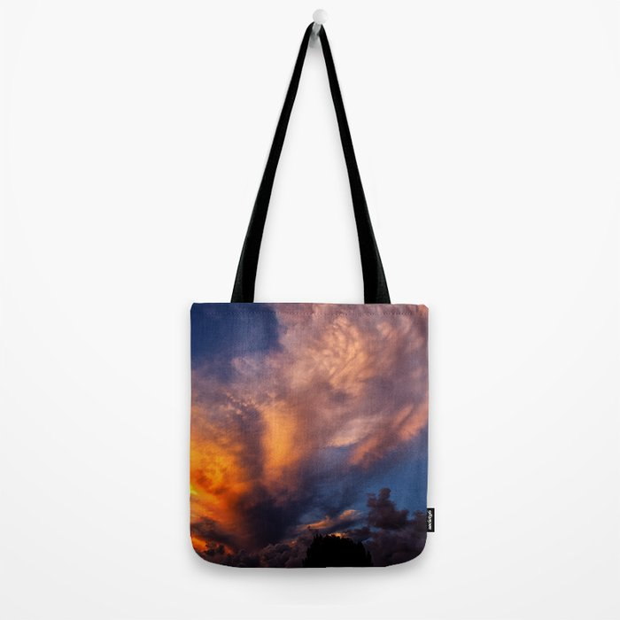 Winged Sunset Tote Bag