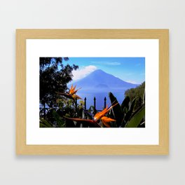 Lago Atitlan, Guatemala Framed Art Print
