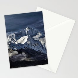Mount Everest from the north side view in China Stationery Cards