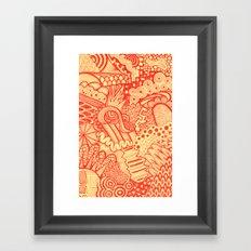 Discompose  Framed Art Print