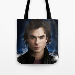 Damon Salvatore (Ian Somerhalder) Tote Bag