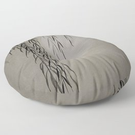 Willow in the moonlight Floor Pillow