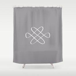 Infinity Knot - Minimal FS - by Friztin Shower Curtain
