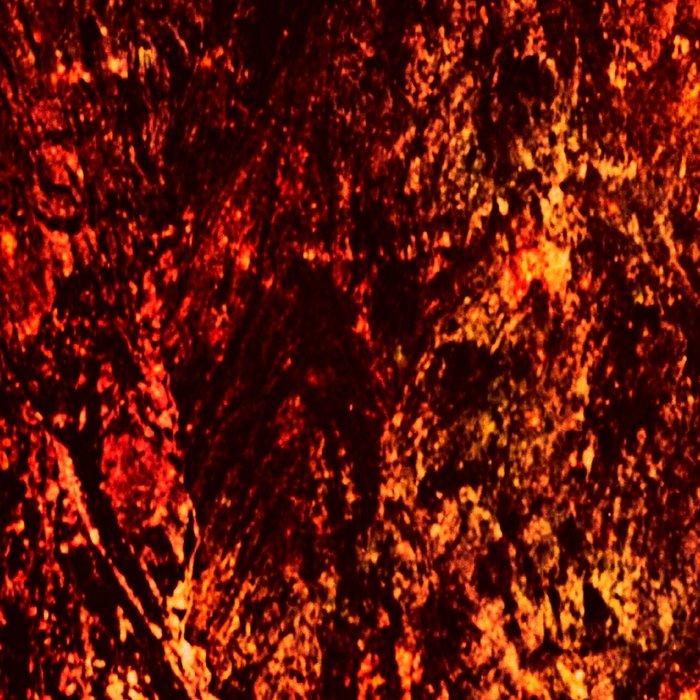 galaxy Mountains Fiery Orange & Red Leggings