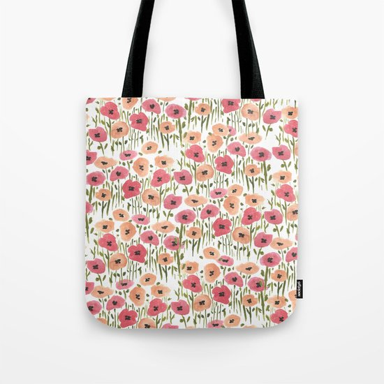 Garden Print Tote Bag