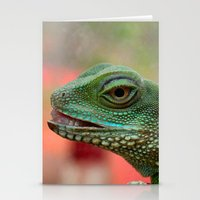 iggy Stationery Cards featuring Iggy by IowaShots